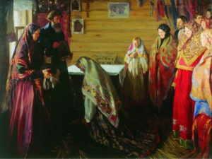 Иван Куликов, Благославление новобрачных в Муроме
