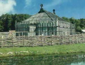 Реконструкция славянского святилища, Гросс Раден, Аркона