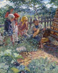 Богданов-Бельский Н.П. Музыкант