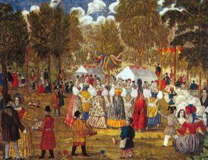 Грачев А. Семик, или гулянья в Марьиной Роще. 1845