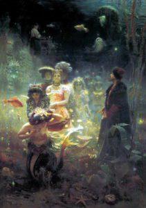Репин И.Е. Садко. 1876. ГРМ