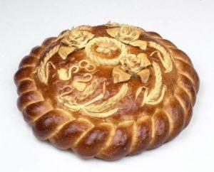 Свадебный обрядовый хлеб