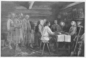 Родительский день в Белоруссии, XIX век
