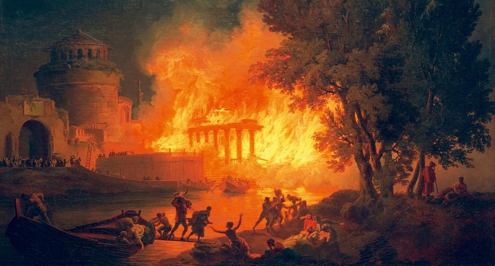 Поджог Рима